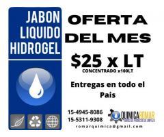 Jabon Liquido textil