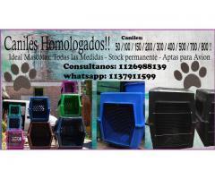 caniles para perros y gatos homolgados.
