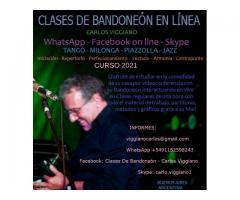 CLASES DE BANDONEON EN LINEA WhatsApp
