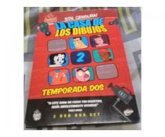 LA CASA DE LOS DIBUJOS DVD ORIGINAL SUBTITULADO T/2, .