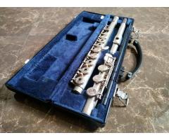 Flauta traversa Yamaha 381 YFL silver head intermedia