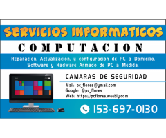 Informatica Computacion a domicilio en CABA y alrededores