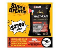(((SUPER OFERTA))) Walt Can Alto Rendimiento x 20 Kg + ENVÍO = $2790!