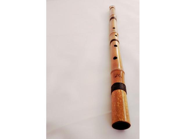 Shakuhachi, Flauta Japonesa de bambú, en Si bemol - 1/4