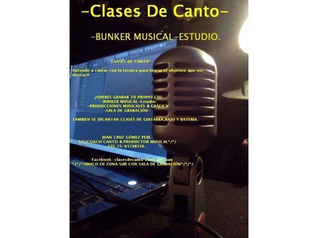 CLASES DE CANTO BANFIELD - 2/2