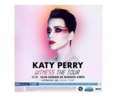 Katy Perry - 11 de Marzo - Campo - Club Ciudad de Bs As