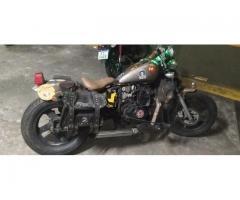 Vendo moto guerrero gmx 220 bobber para ruta