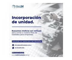 INCORPORACION DE UNIDADES // CHOFERES CON VEHICULO