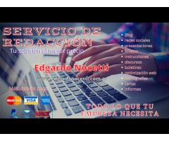 Servicio de redacción y creación de contenido web