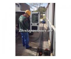 servicio de destapaciones con maquinas y video inspeccion