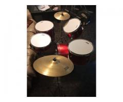 Batería Orion Drums 5 Cuerpos + hi-hat y ride