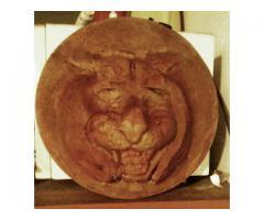 Escultura Cabeza de tigre
