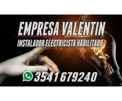 ELECTRICISTA HABILITADO ERSEP CARLOS PAZ