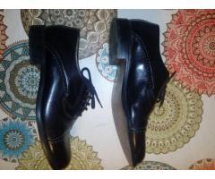 Zapatos de cuero hombre 42
