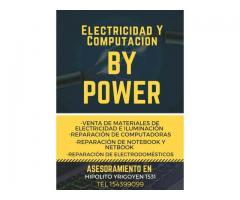 Electricidad y computacion by power