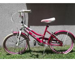 Bicicleta musetta modelo betty blue rodado 20