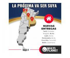 TU CASA SERÁ REALIDAD CON MULTIPLANET Construcciones - 3517624227 -