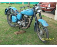 Vendo antigua moto BSA 1947 250 c.c