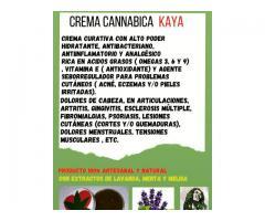 Crema de Cannabis medicinal