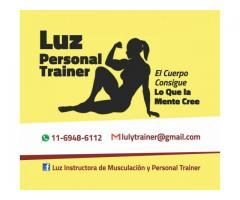 Entrenadora Personal e Instructora de Musculación Ciudad de Buenos Aires