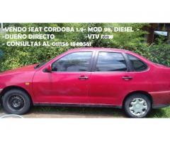 seat corboda 98. vendo urgente