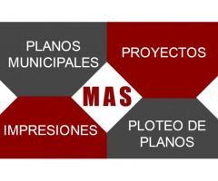 Realización De Planos Municipales- Croquis Para Samsa-3d 2d