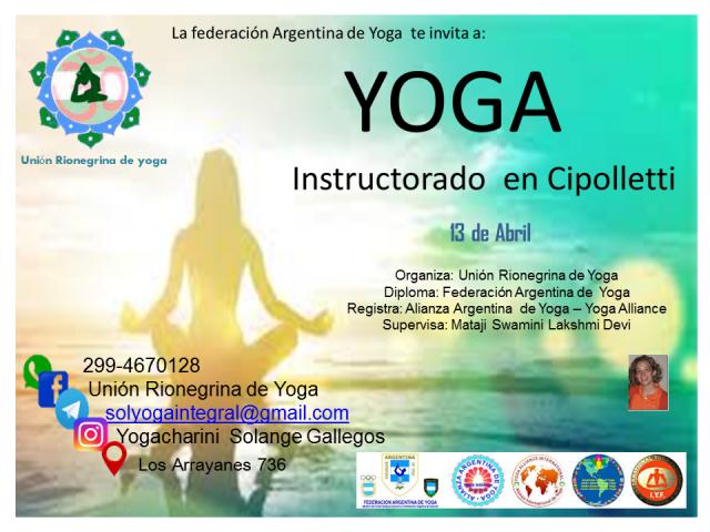 Instructorado De Yoga 2018 Cipolletti Segunda Mano Argentina Avisos Clasificados Gratis