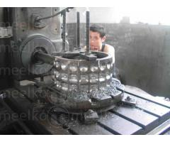 Prensa Meelko  para hacer carbon en briquetas 30 Toneladas hora - MKBC30.