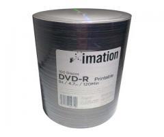 dvd virgen x 100 unidades marca memorex o imation