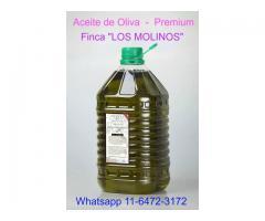 Aceite De Oliva Puro & Extra Virgen - Bidon de 5 Lts