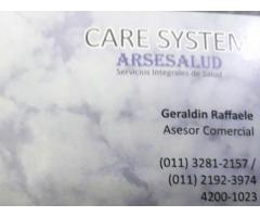 Servicio de Enfermería Domiciliaria CARE SYSTEM