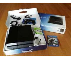 nuevo Sony Playstation negro 4-500GB
