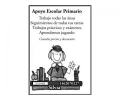 Apoyo escolar primario-en Barracas-