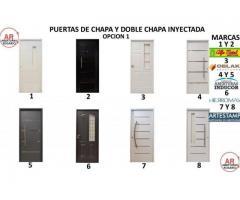 PUERTAS DE DOBLE CHAPA OPCION 1 NUEVAS ENVIOS
