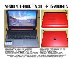 NOTEBOOK HP TACTIL 15.6