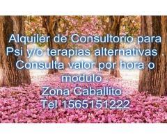 ALQUILER DE OFICINA Y/O CONSULTORIO PSI Y AFINES