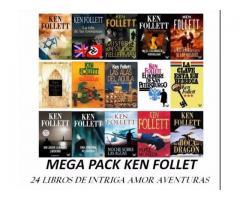 Colección 25 Libros Ken Follet pdf Digital