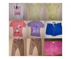 Remeras, Shorts, Calzas Niña