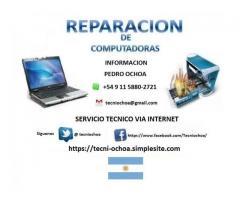 SERVICIO TÉCNICO EN COMPUTACIÓN VÍA INTERNET