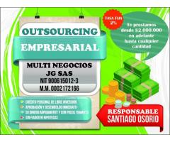 Outsourcing empresarial financia