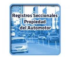 informe de dominio auto o moto