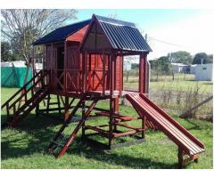 Casas y mangrullos infantiles para niños