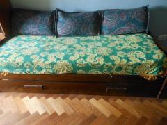 sofácama c/cama inferior plegable