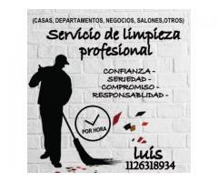 Servicio de limpieza profesional