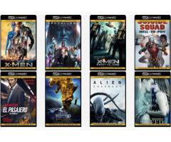 Grabo películas FullHD - 4k UltraHD - 60fps