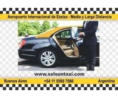 Taxis al Aeropuerto Internacional de Ezeiza