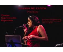 Clases de canto Palermo