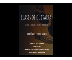 Clases de guitarra en Martinez