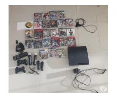 Playstation 3 - 320 gb - kit move - navigator - 25 juegos!