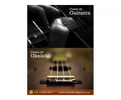 Clases de Ukelele / Clases de Guitarra